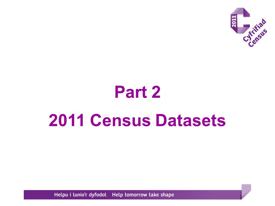 Part Census Datasets