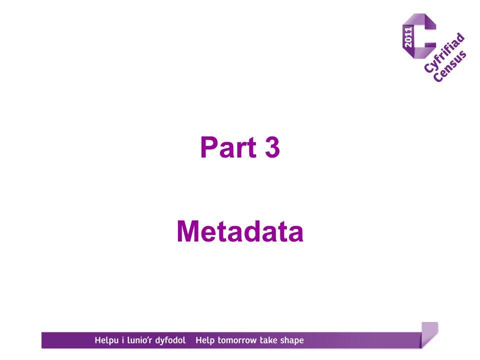 Part 3 Metadata