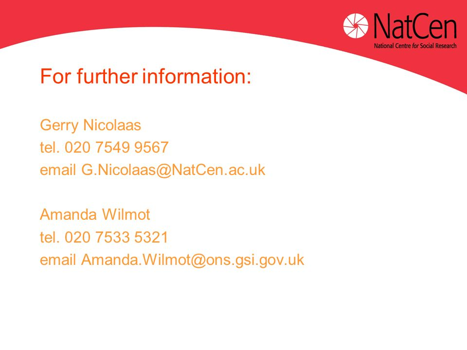 For further information: Gerry Nicolaas tel.