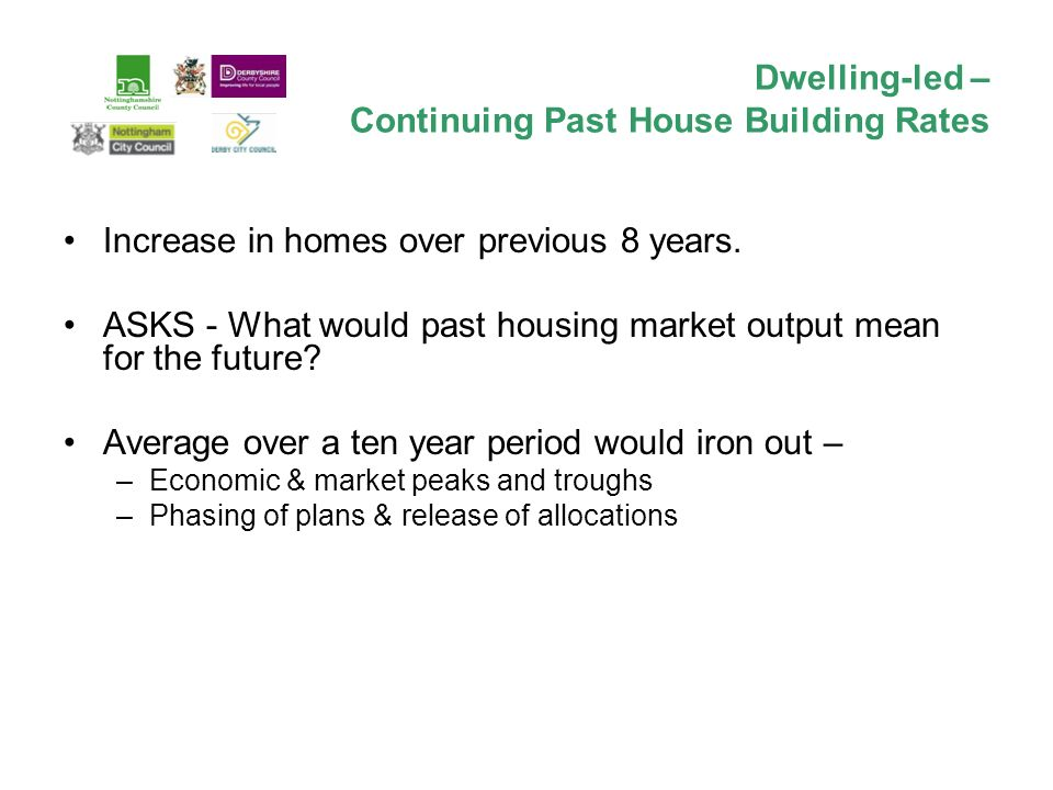 Increase in homes over previous 8 years.