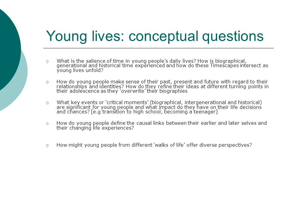 Building context through multi-dimensional methods 1.