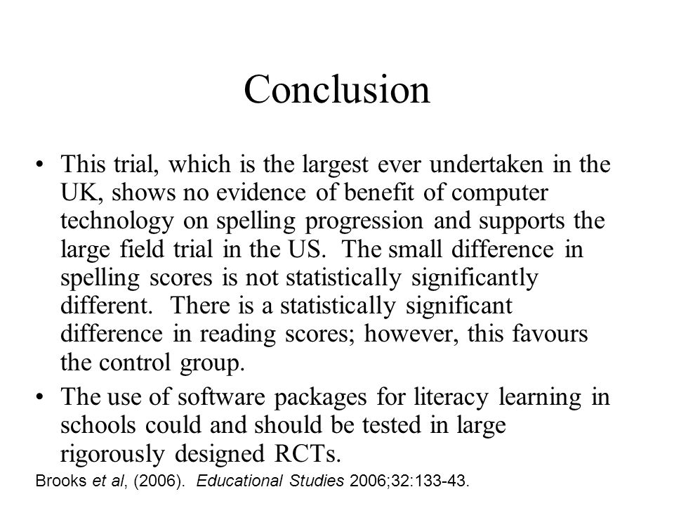 Different types of phonics Three small trials compared synthetic vs analytical phonics.