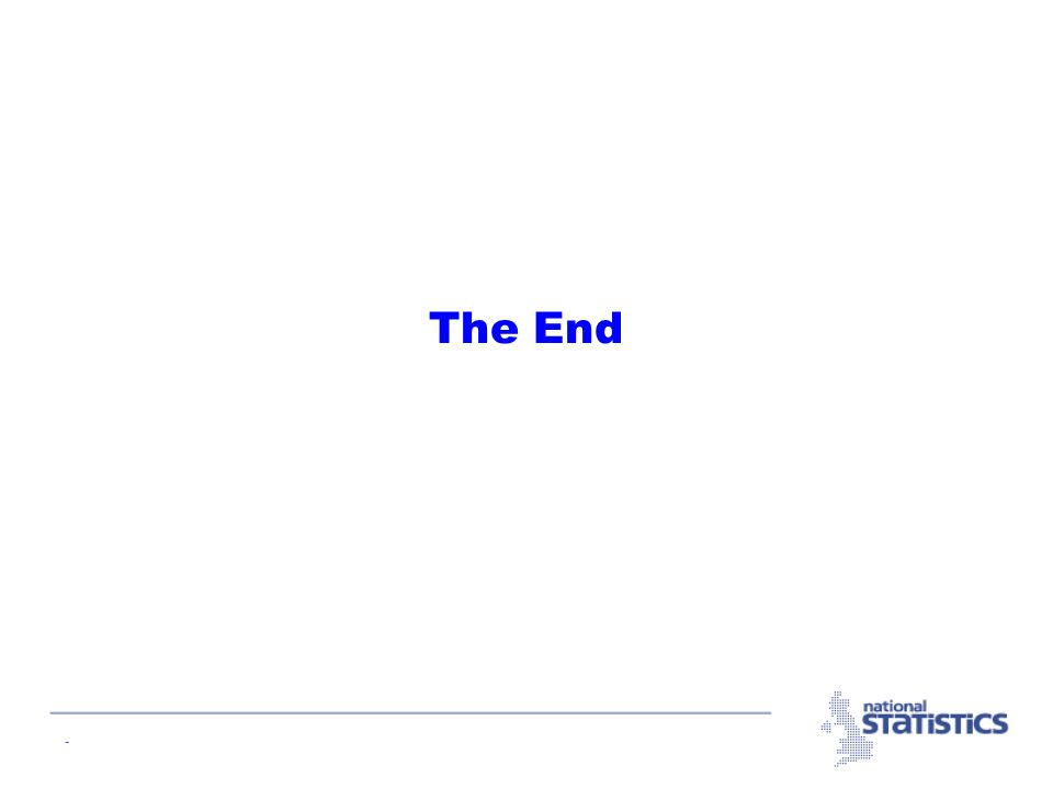 - The End