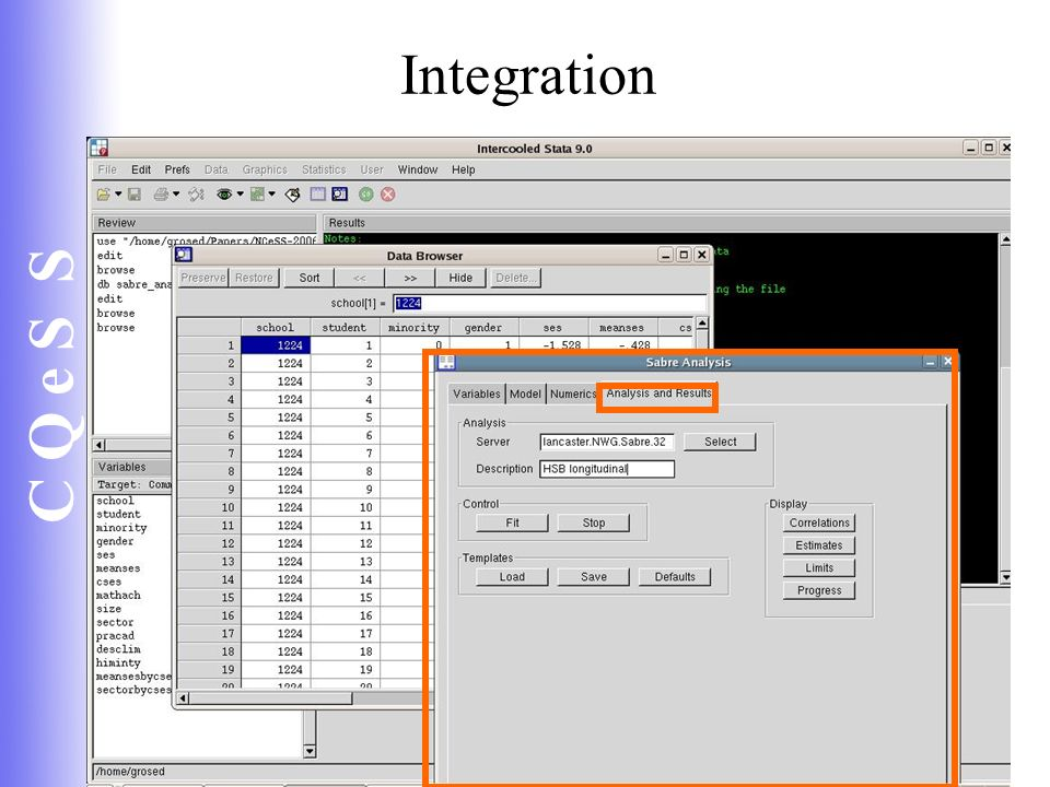 C Q e S S 52 Integration