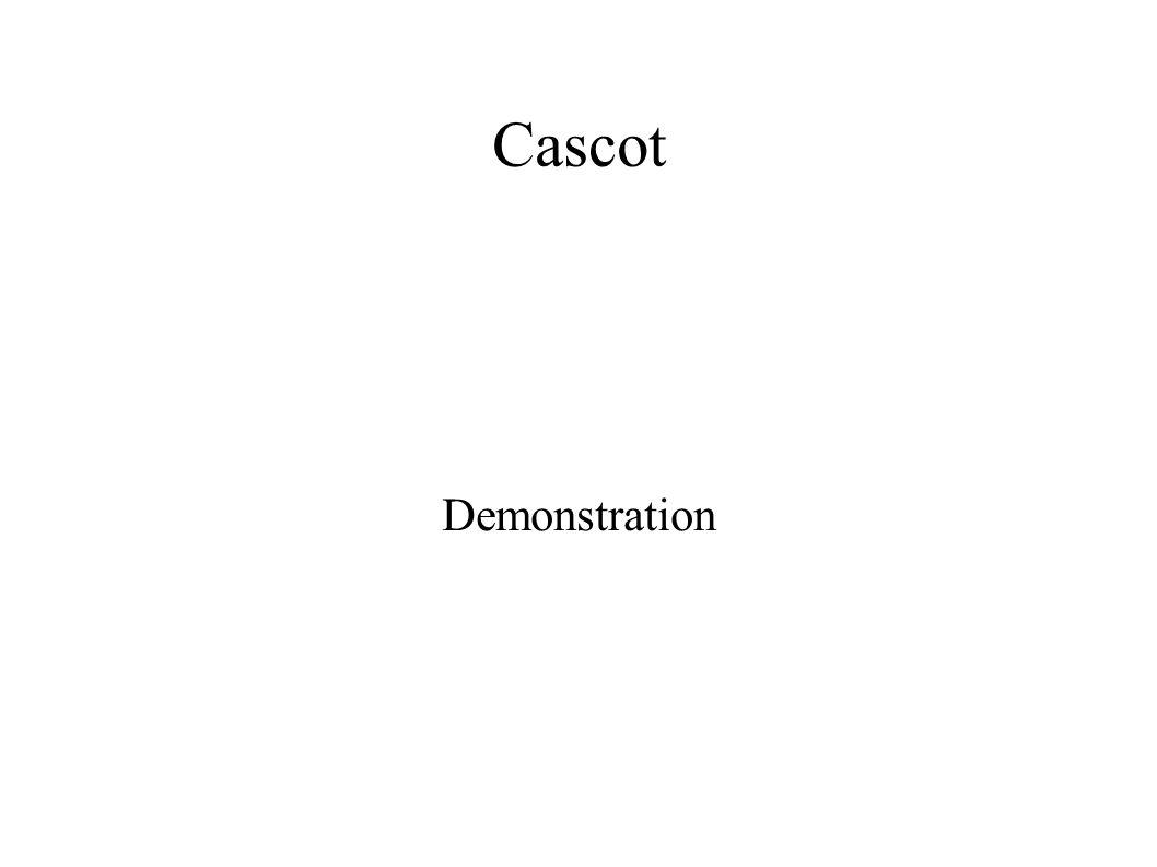 Cascot Demonstration