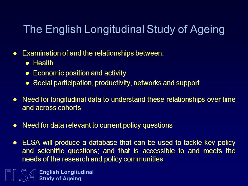 ELSA English Longitudinal Study of Ageing Membership of organisations by class: men Source: Marmot et al.