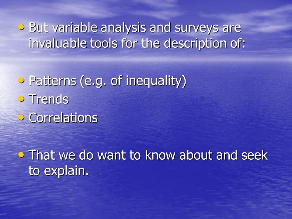 2 VA is at odds with our main theoretical models of explanation.