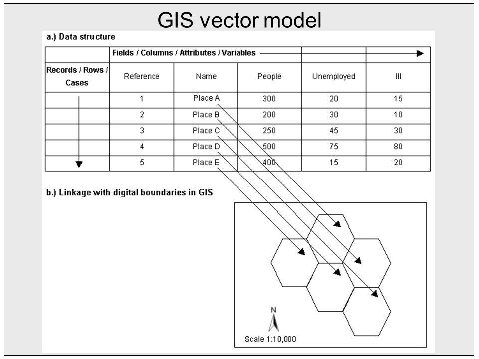 GIS vector model
