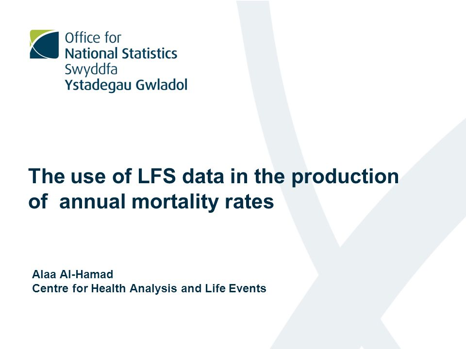 Preparing the LFS population by age and NS-SEC: 1- Used LFS data to derive reduced NS-SEC.