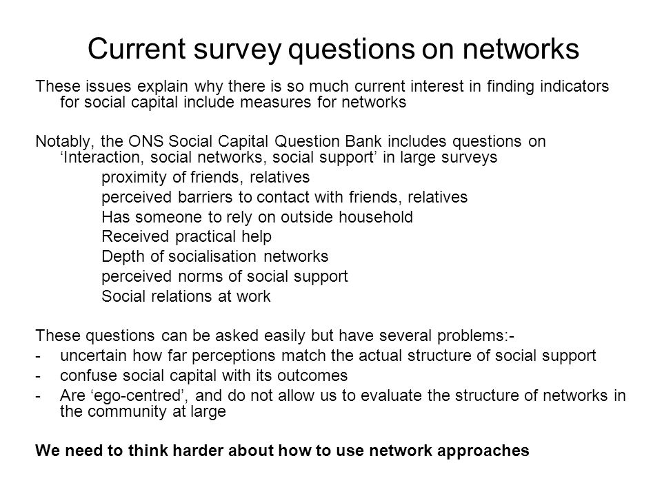 The potential of social network analysis SNA examines the ties (networks) between points, using graph theory and other mathematical models.