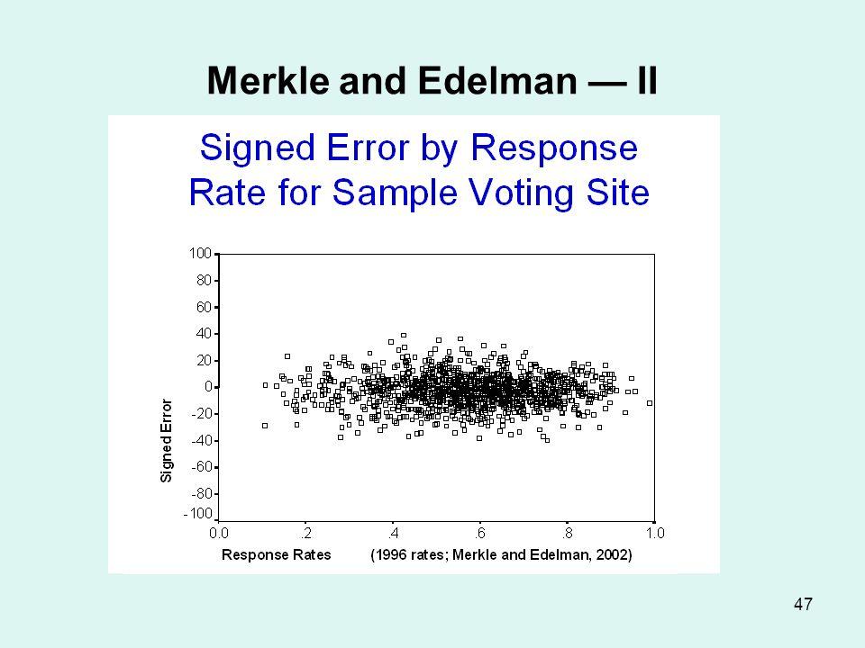 47 Merkle and Edelman II