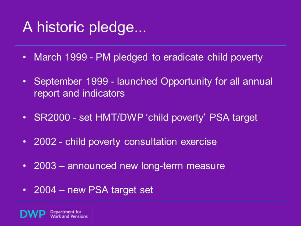 A historic pledge...
