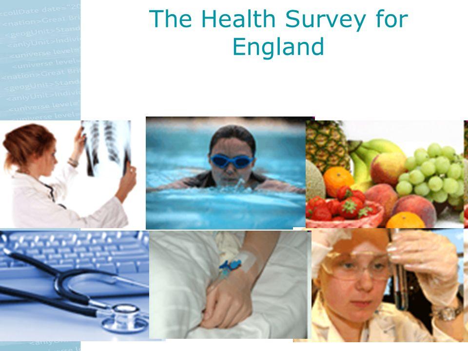 The Health Survey for England