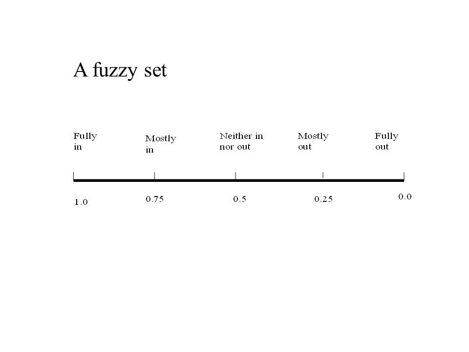 A fuzzy set