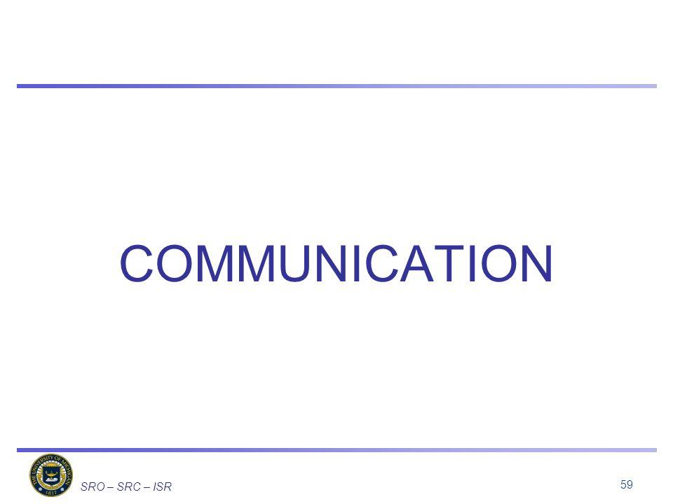 COMMUNICATION 59