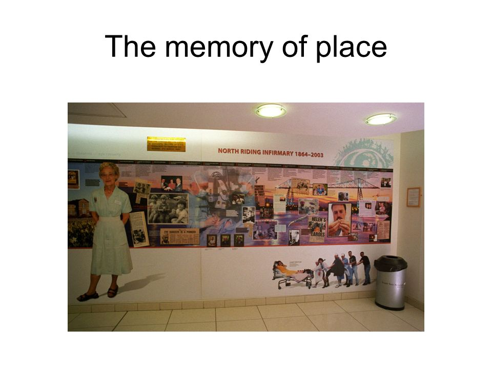 The memory of place