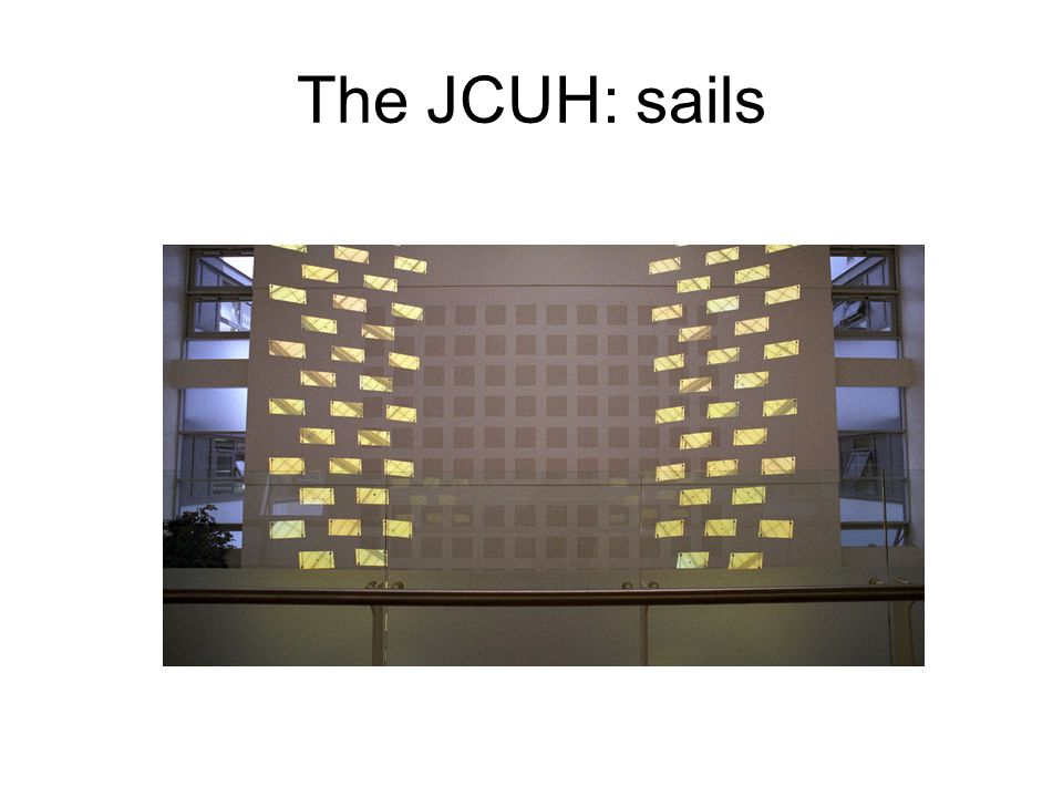The JCUH: stained glass