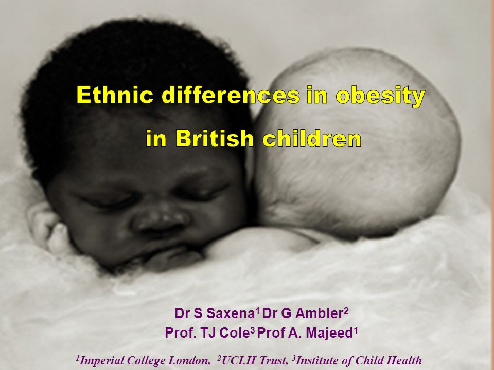 Dr S Saxena 1 Dr G Ambler 2 Prof. TJ Cole 3 Prof A. Majeed 1 1 Imperial College London, 2 UCLH Trust, 3 Institute of Child Health