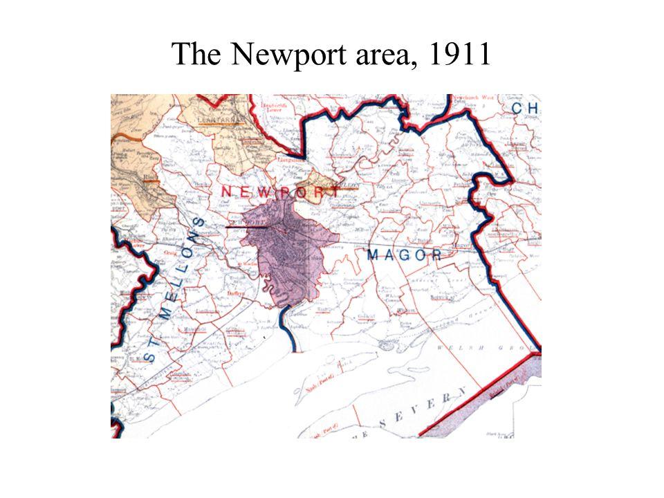 The Newport area, 1911
