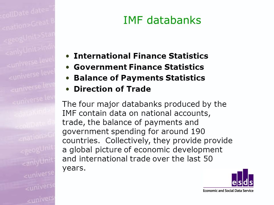 World Bank databases World Development Indicators Global Development Finance GDF is the World Banks annual review of financial flows to developing countries.