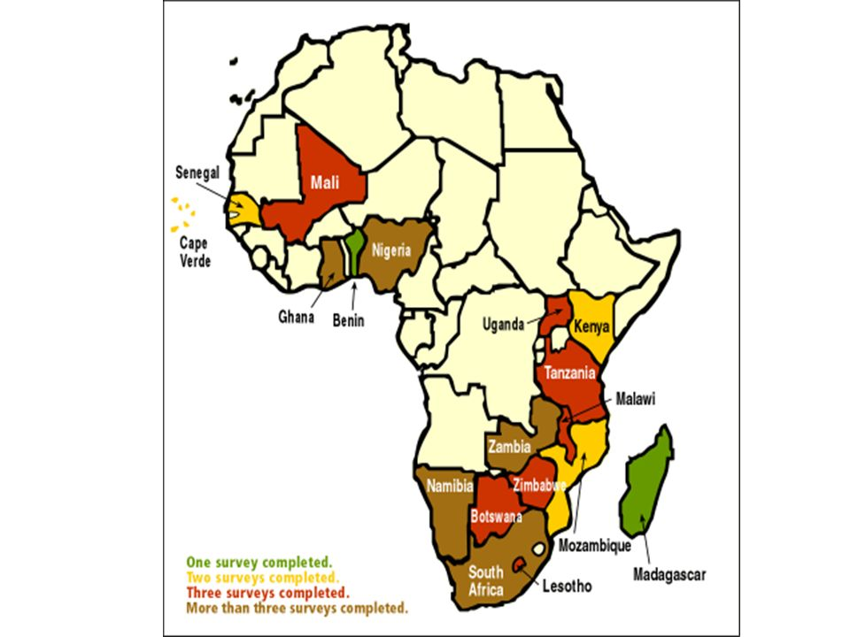 The role of ethnicity in African politics Ethnicity matters in Africa: (i) African states are very diverse: only 2 Afrobarometer countries are ethnically homogenous.