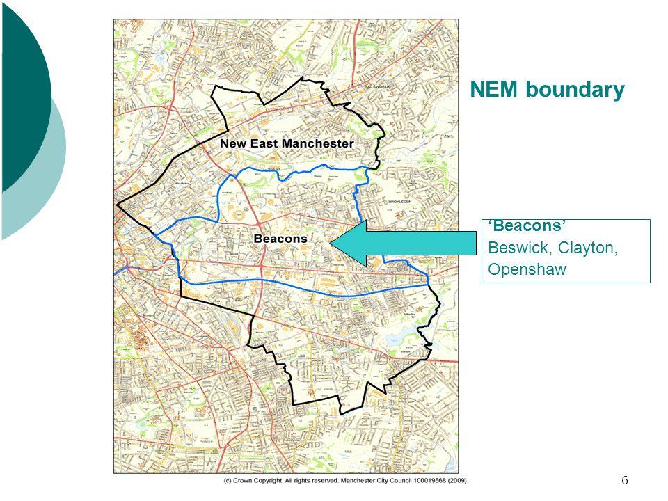 6 Beacons Beswick, Clayton, Openshaw NEM boundary
