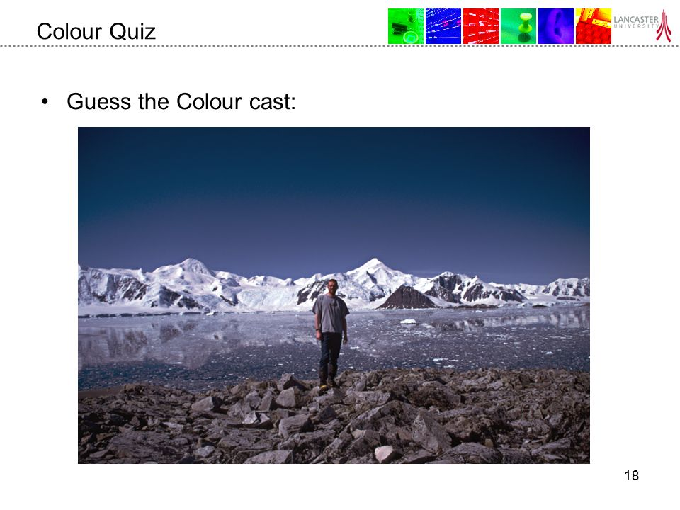 18 Colour Quiz Guess the Colour cast: