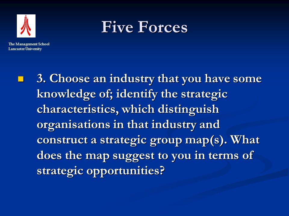 Five Forces 3.