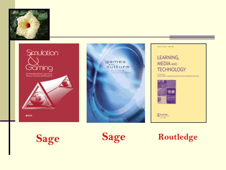 Sage Routledge Sage