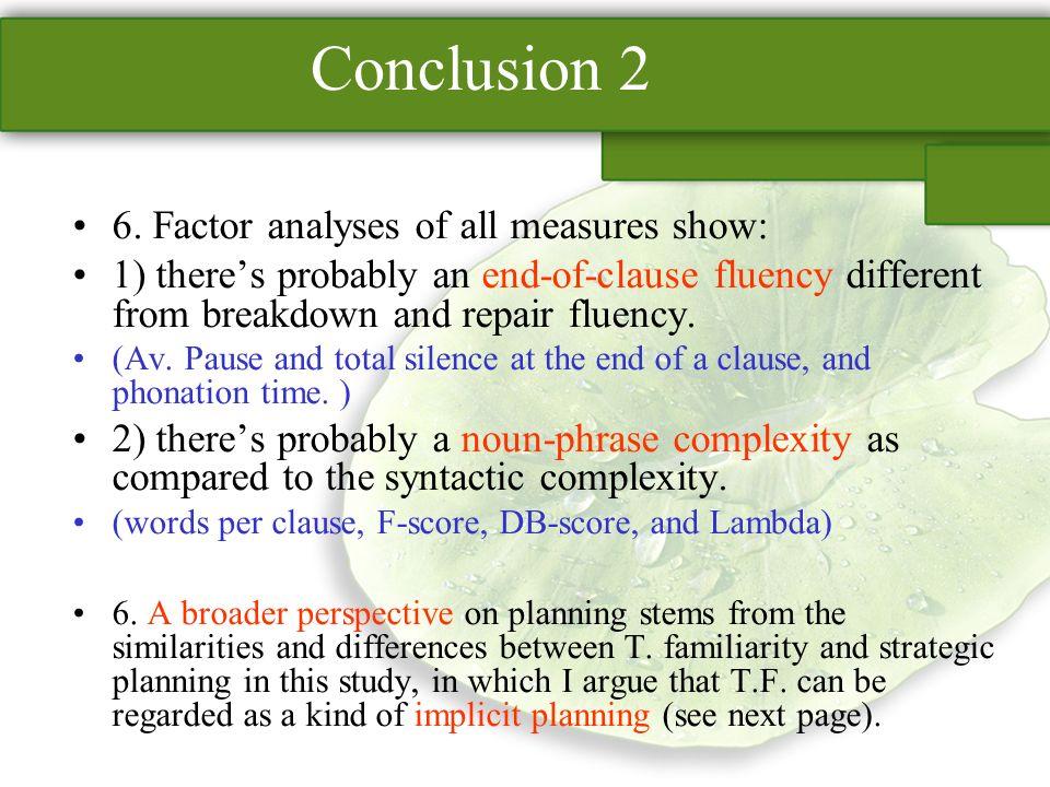Conclusion 2 6.