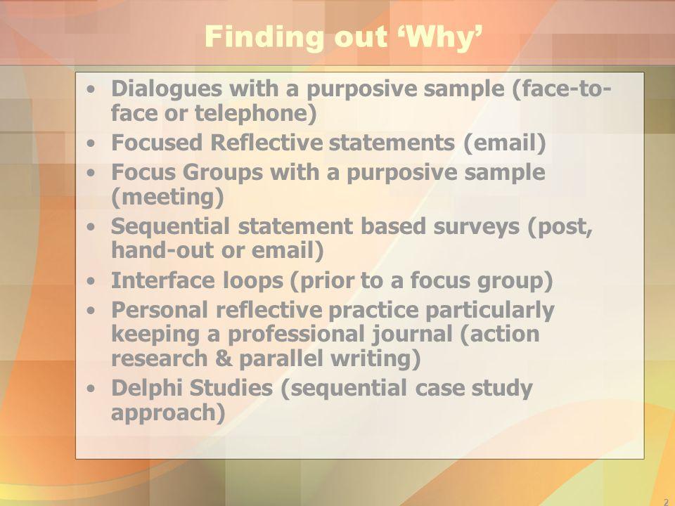 1 Pragmatic Qualitative Methods Dr.Lesleyann Morgan