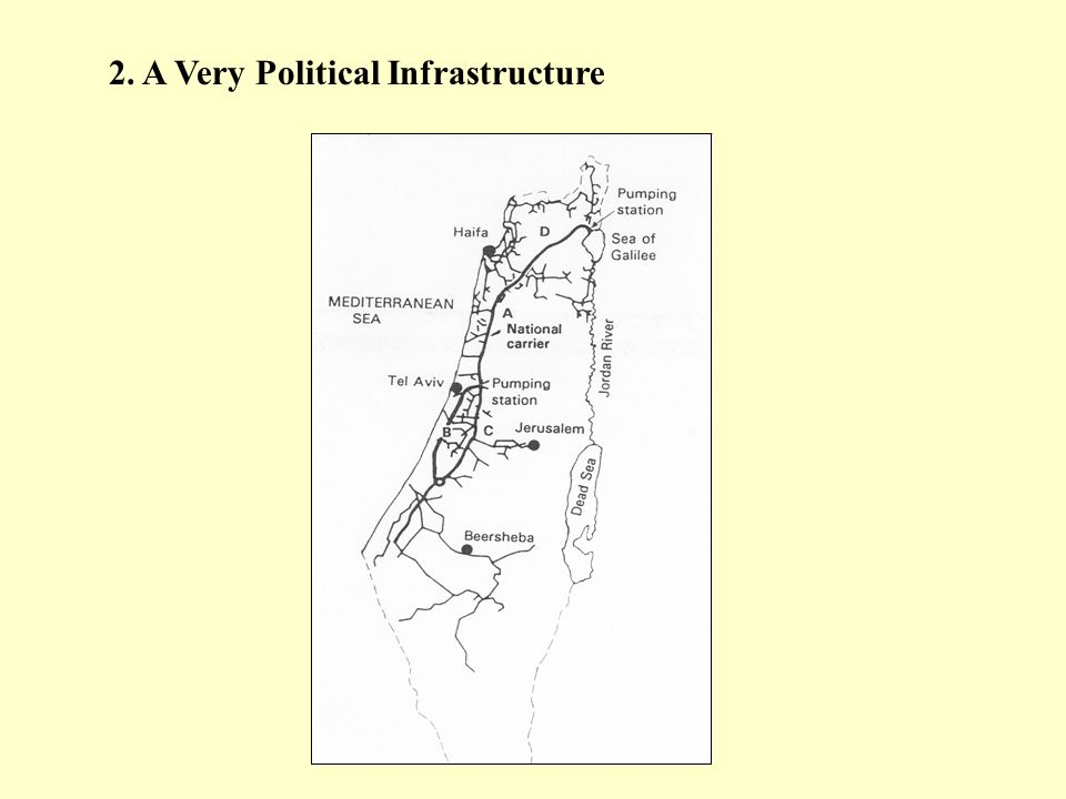 2. A Very Political Infrastructure
