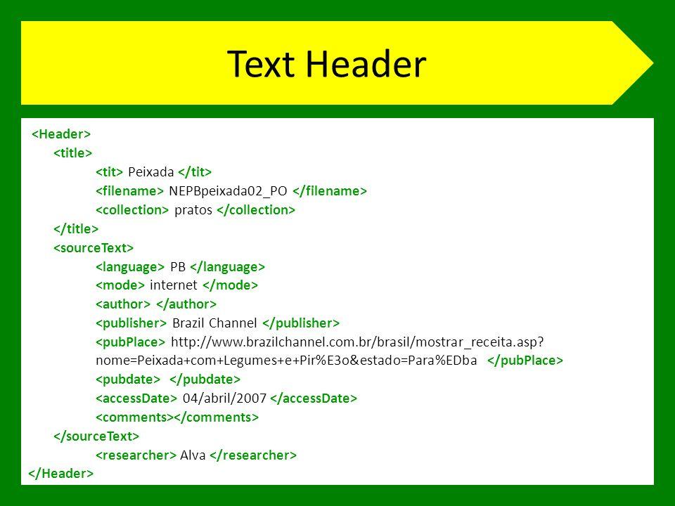 Text Header Peixada NEPBpeixada02_PO pratos PB internet Brazil Channel http://www.brazilchannel.com.br/brasil/mostrar_receita.asp.