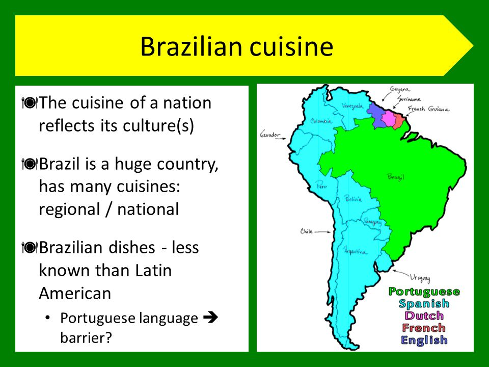 Corpus compilation Initial plan Collect texts by geographic regions Concentrate on Northeast region – main tourist destination Problem: overlapping recipes / ingredients World Cup to be held in different cities.