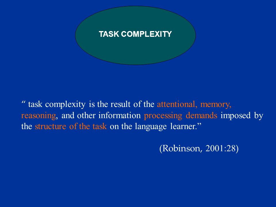 In the MONOLOGIC tasks: the map task generated less structurally and lexically complex speech.