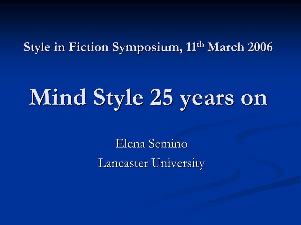 Palmer, A.(2004) Fictional Minds. Lincoln and London: University of Nebraska Press.