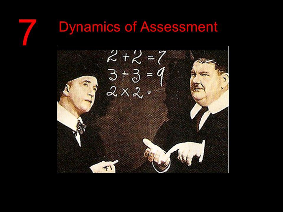 Dynamics of Assessment 7