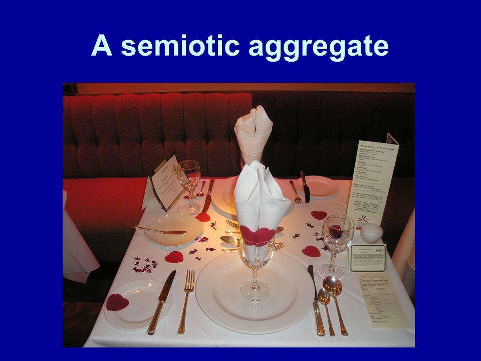 A semiotic aggregate