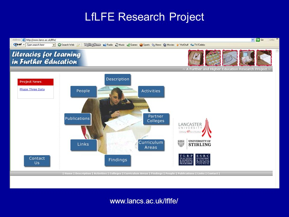 LfLFE Research Project