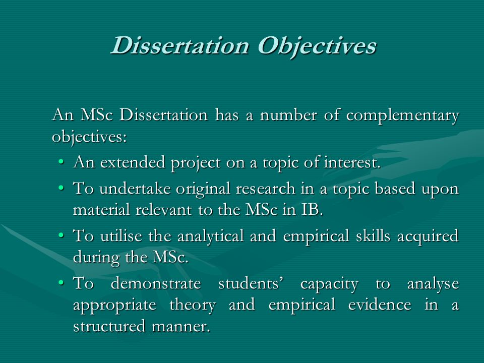 Purchase A Dissertation Structure