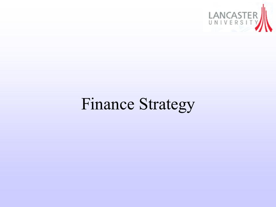 Finance Strategy