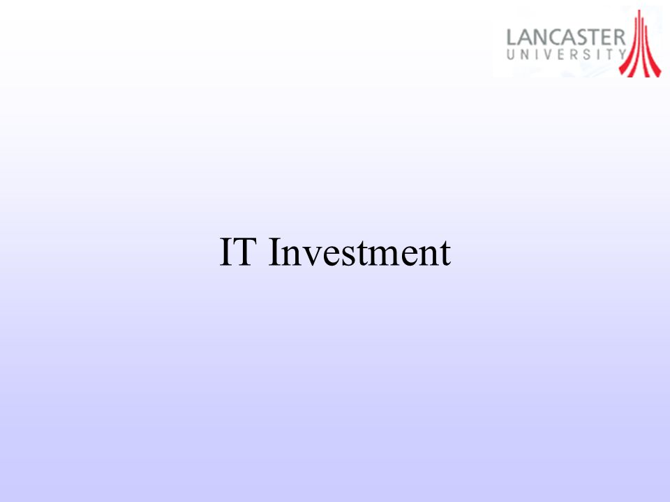 IT Investment
