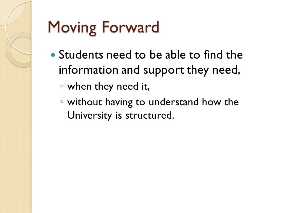 Student Community The aim in the University Strategic Plan is that numbers of international students will increase by 50% by 2015.