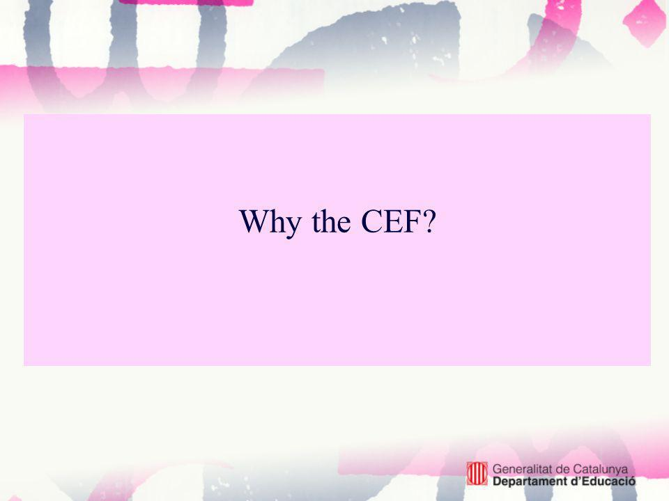 Why the CEF