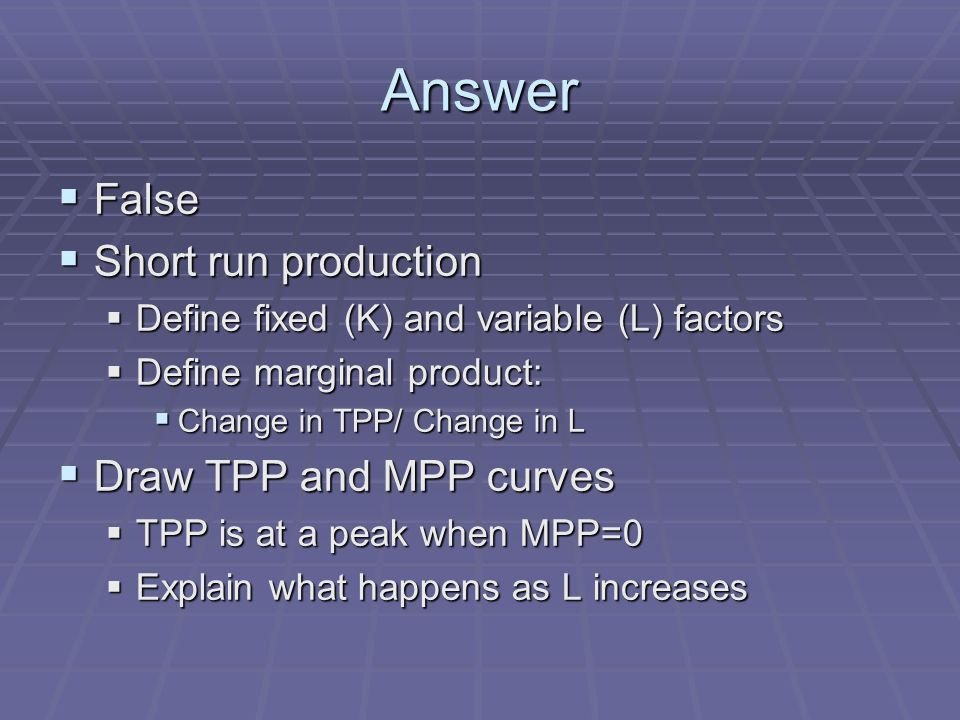 Answer Why does MPP rise and then fall.Why does MPP rise and then fall.