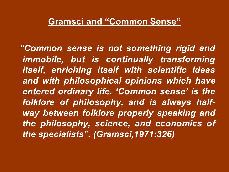 Real power doesnt make any noise. (Grossberg,1992:311)