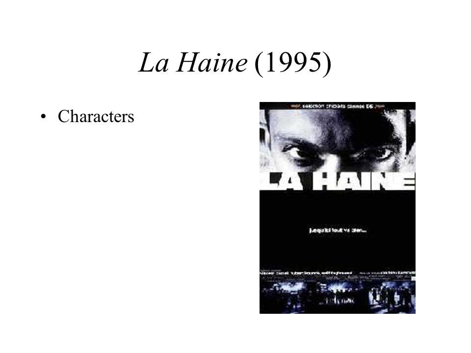 La Haine (1995) Characters