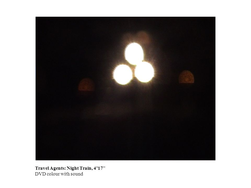 Travel Agents: Night Train, 417 DVD colour with sound
