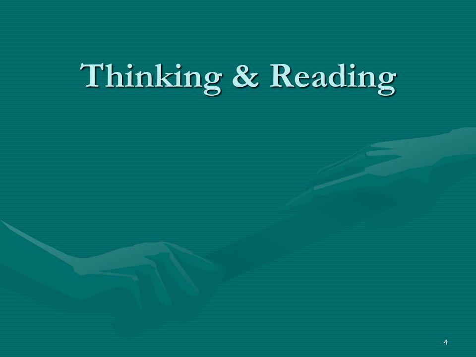 4 Thinking & Reading