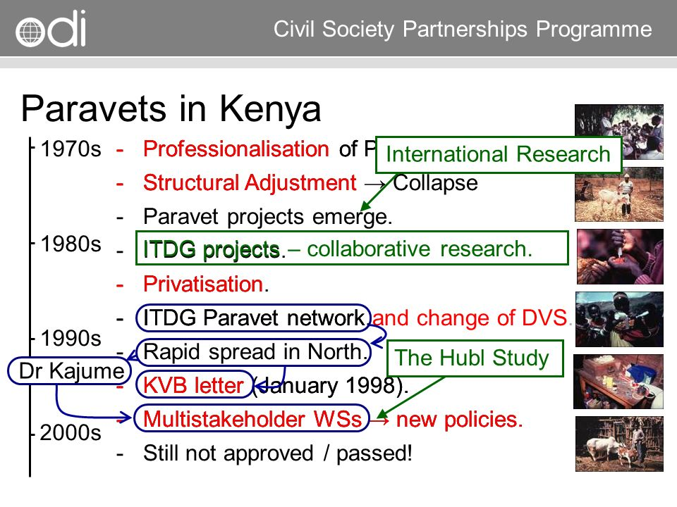 Research and Policy in Development RAPID Programme Civil Society Partnerships Programme ­Professionalisation of Public Services. ­Structural Adjustmen